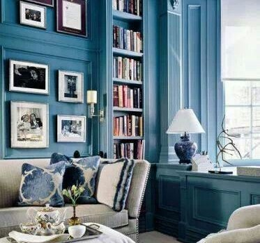 interior blue